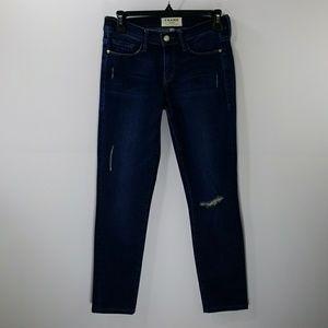 Frame blue ankles jeans size 26